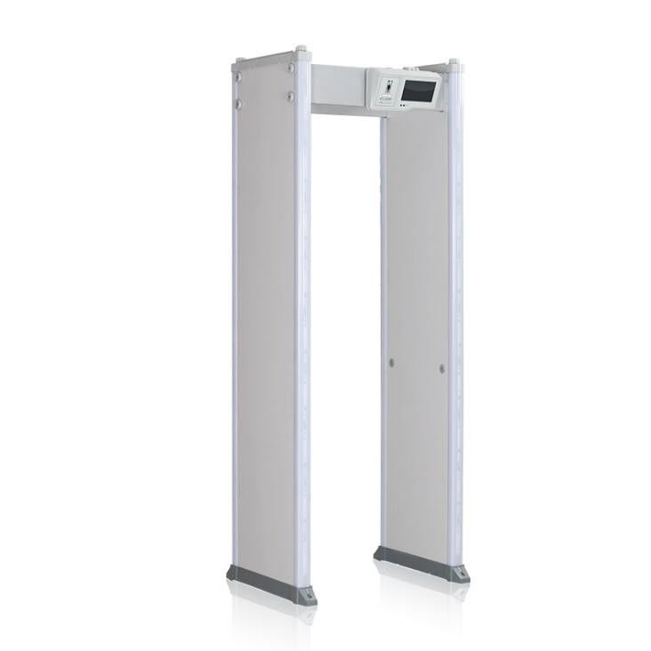 Voice / Light Alarm Door Frame Metal Detector Waterproof Walkthrough For Sensitive Mental