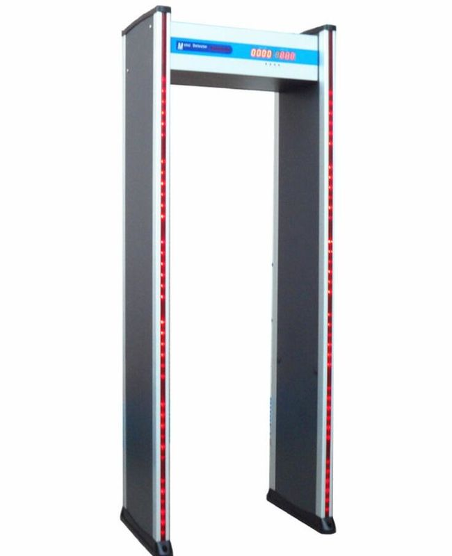 Walkthrough Body Scanner Metal Detector Security Checking Gate For School / Court supplier