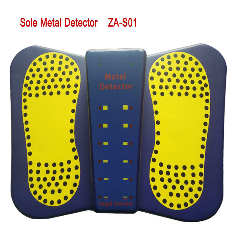 2019 New Portable Shoes Metal Detector Sound/LED Alarm High Sensitivity Sole Metal Detector for foot Scanner supplier