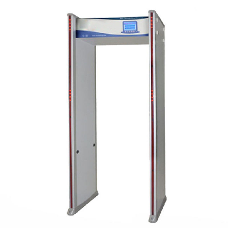 255 Level High Sensitivity Body Metal Detectors , 33 Zones Door Metal Detector supplier