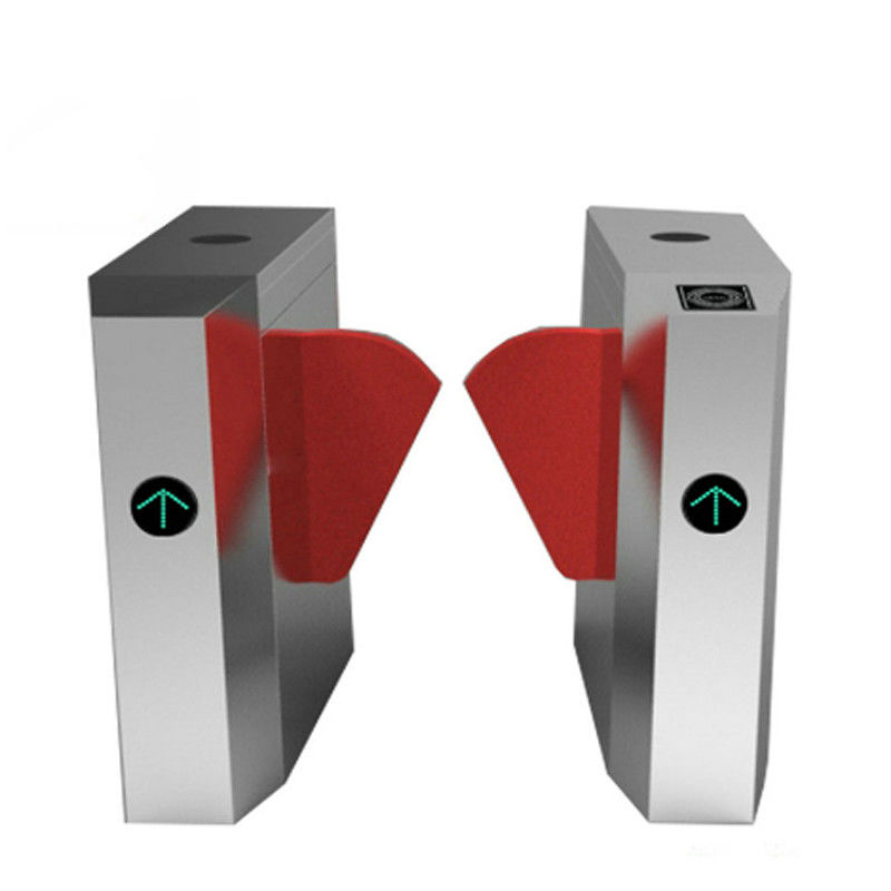 Optical Smart Pedestrian Barrier Gate Entrance Sliding Electronic Turnstile