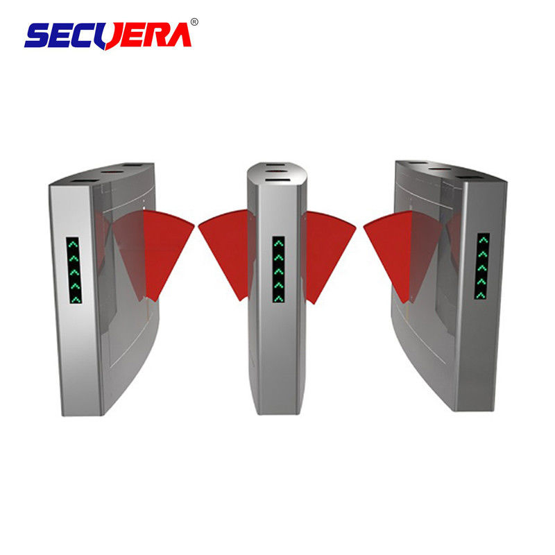 Electronic Bridge Type Swing Turnstile Barrier Gate Access Control Coin Operated System supplier