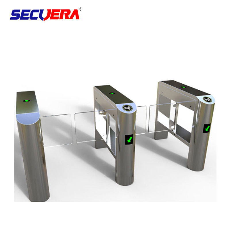 Finger print access control system automatic ESD security access control flap barrier gate supplier