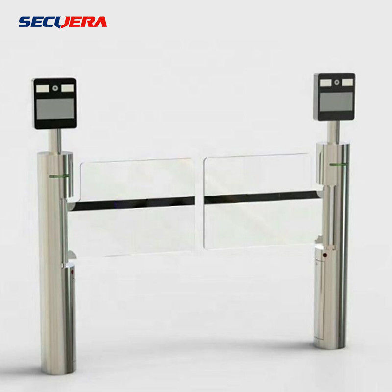 Security Access Control Full Height Sliding Gate With Acess Control Turnstile Barrier Gate supplier