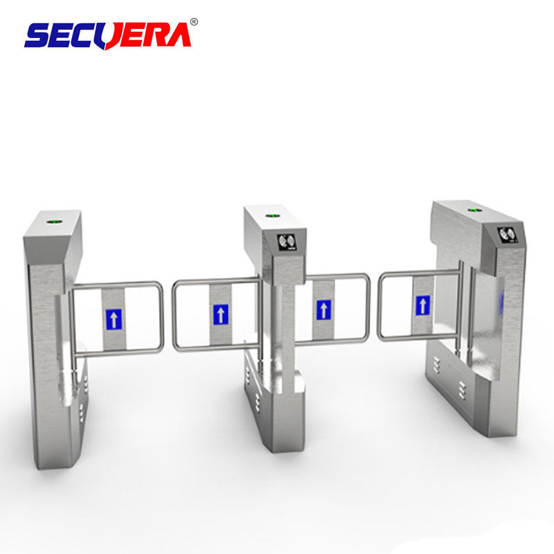 304 Stainless Steel Outdoor Optical Rfid Vertical Access Control Turnstiles Mechanism supplier