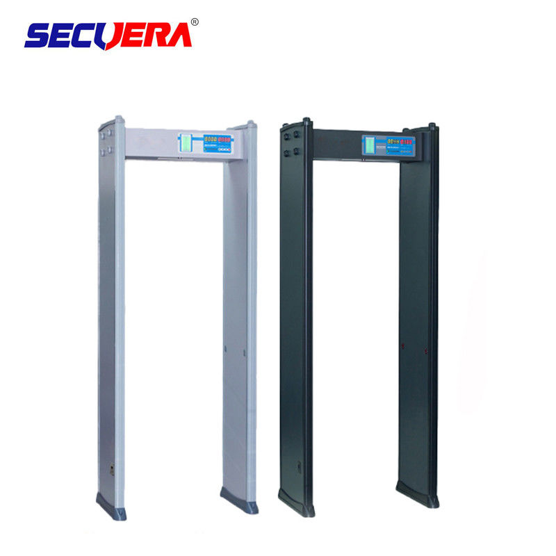Water Proof IP 65 security Walk archway Through metal detector gate supplier