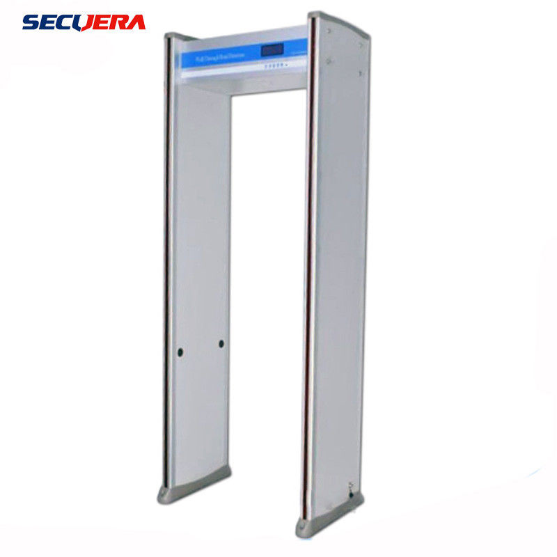 Smart Check door frame metal detector walk through metal detector portable 33 zones security gate supplier