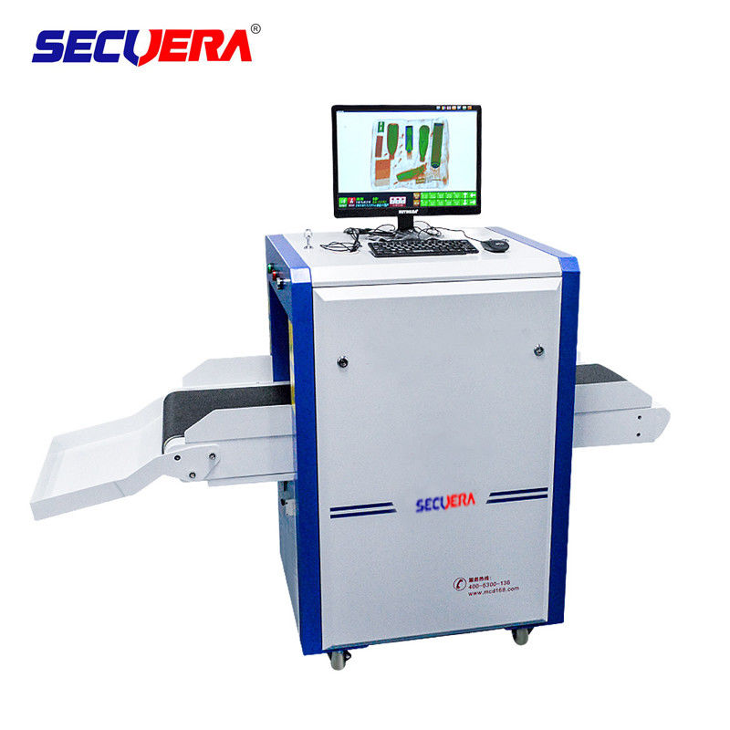Banks X Ray Baggage Scanner Equipment , Security Detection Systems With LCD Display supplier