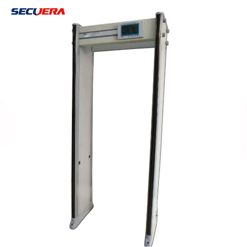 33 45 zones high sensitivity door frame archway walk through metal detector supplier