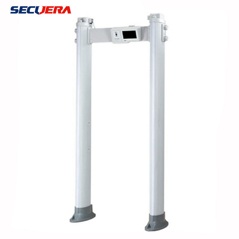 Access Safety Commercial Body Metal Detectors , 4 Zones Walk Through Scanner With Human Indicating Lamp supplier