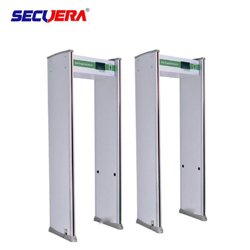 Court Door Frame Metal Detector 45 Zones LCD Screen Infrared Remote Controller supplier