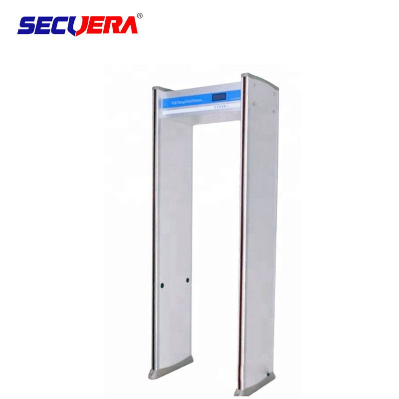 Adjustable Sensitivity Walk Through Metal Detector With PVC Synthetic Material supplier