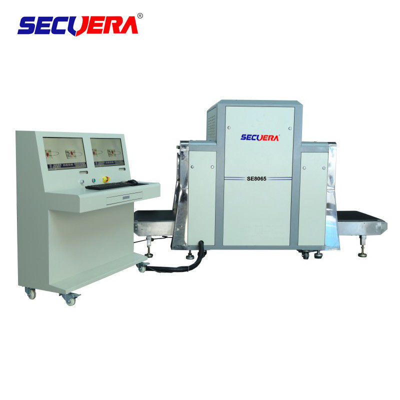 80 * 65cm Thoroughfare Baggage Screening Machine For Convention Centers airport baggage security x ray machines