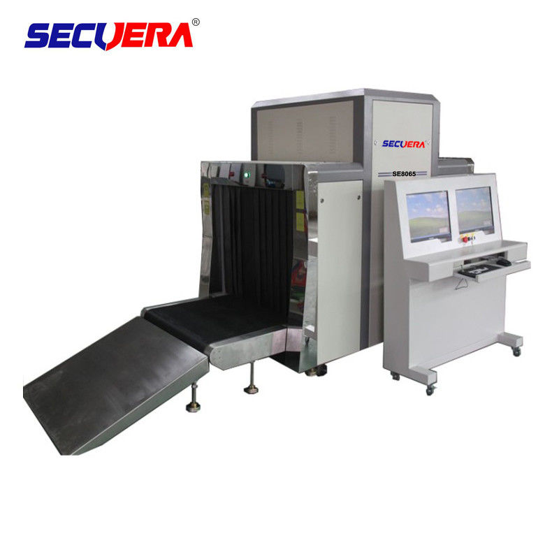 80 x 65cm Tunnel X ray Security Baggage Scanner For Commercial Buildings baggage scanning machine luggage scanner supplier