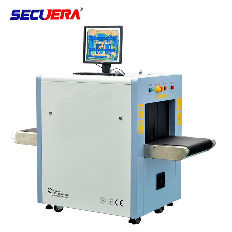 Sealed Oil Cooling Security Baggage Scanner With 60 ° Ray Beam Divergence Angle baggage scanning machine airport x ray supplier