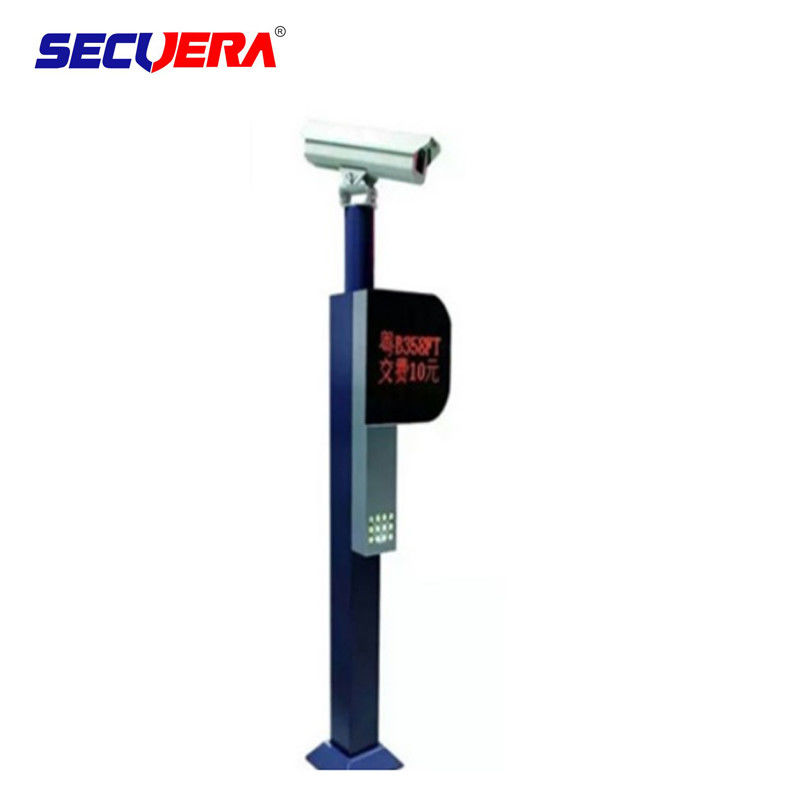 Stainless Steel Turnstile Barrier Gate Traffic Vehicle Camera License Plate Recognition supplier