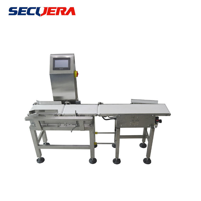 90w 220v Standard Conveyor Belt Metal Detector Horizontal Tunnel For Leisure Food supplier