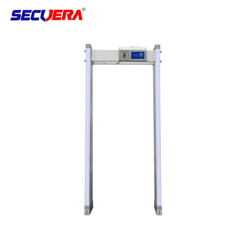 High Sensitivity Walk Through Metal Gate , Arched Metal Detector Connect With PC