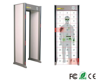 Airport Archway High Sensitive Body Metal Detectors , Walk Through Security Scanners