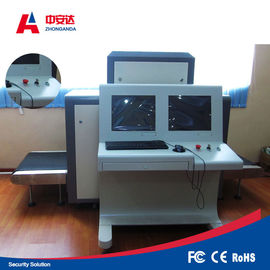 High Resolution X Ray Inspection Machine , Bag Scanning Machine For Train Station