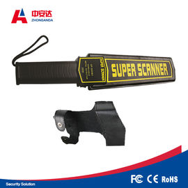 High Sensitivity Digital Metal Detector Handheld For Factory / Schools