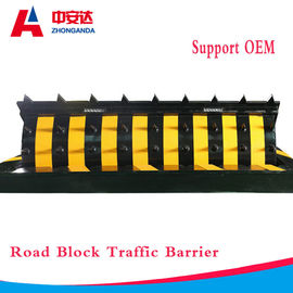 Road Blocker Hydraulic Security Spike Road Blocker System Traffic Safety Barrier for Roadway