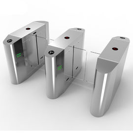 Access Control Security Pedestrian Barrier Gate Entrance Counter Turnstile With RFID Interface