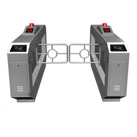 Swing Gate Turnstile Security Systems , Rfid Card Reader Automatic Gate Barrier System