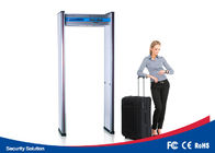 0 - 99 Sensitivity Walk Through Security Scanners Waterproof With 6 Detecting Zones