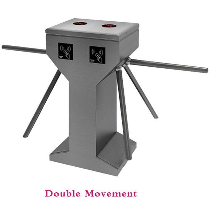 RFID Vertical Tripod Turnstile Barrier Gate Security Access Control One / Two Way