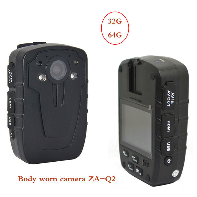 Worn Camera Body Metal Detectors  1080p Video Recording With Wifi