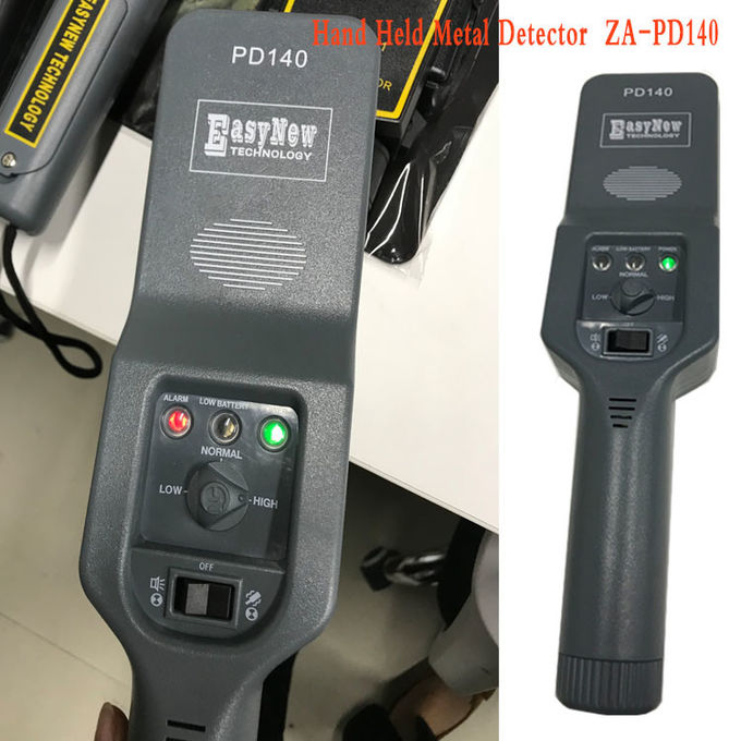 22 KHZ Working Frequency Metal Detector Scanner For Security Guards